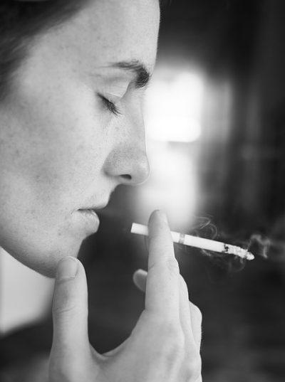 Stress, roken en terugval