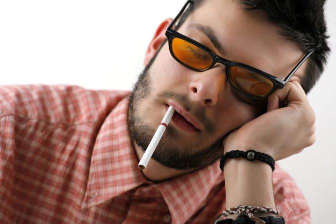 Roken en slapen