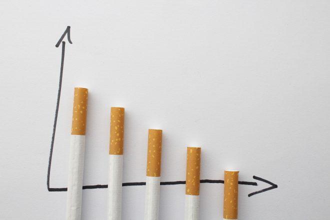 Sigaretten afbouwen en minderen