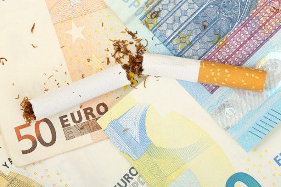 Prijsverhoging sigaretten 2021