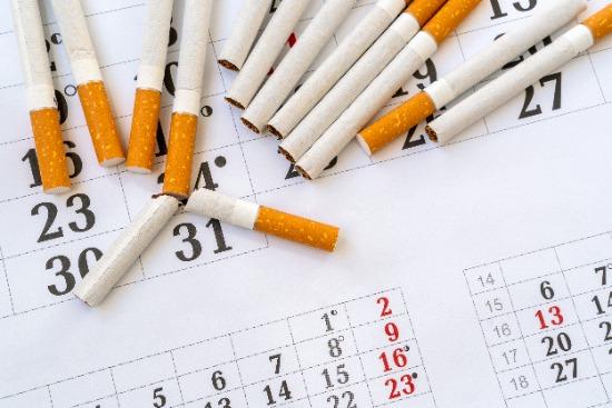 Stopdatum stoppen met roken